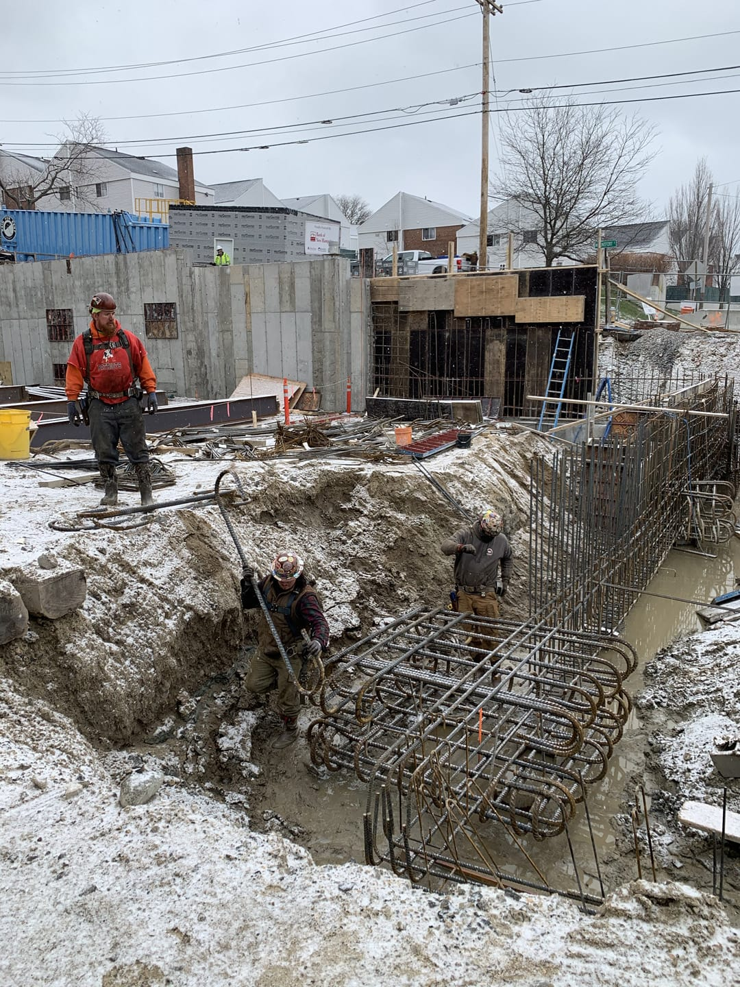 Structural concrete and rebar
