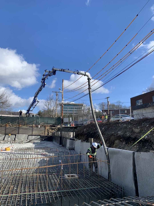 Concrete pumping for structural concrete